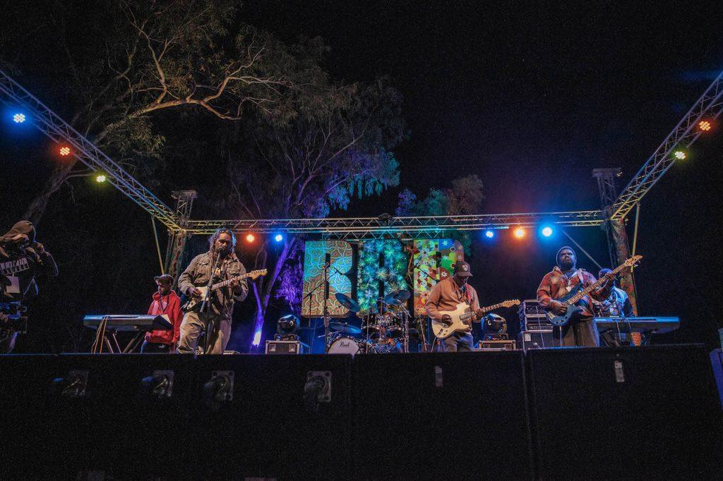 Docker River Band  📷 Nico Liengme