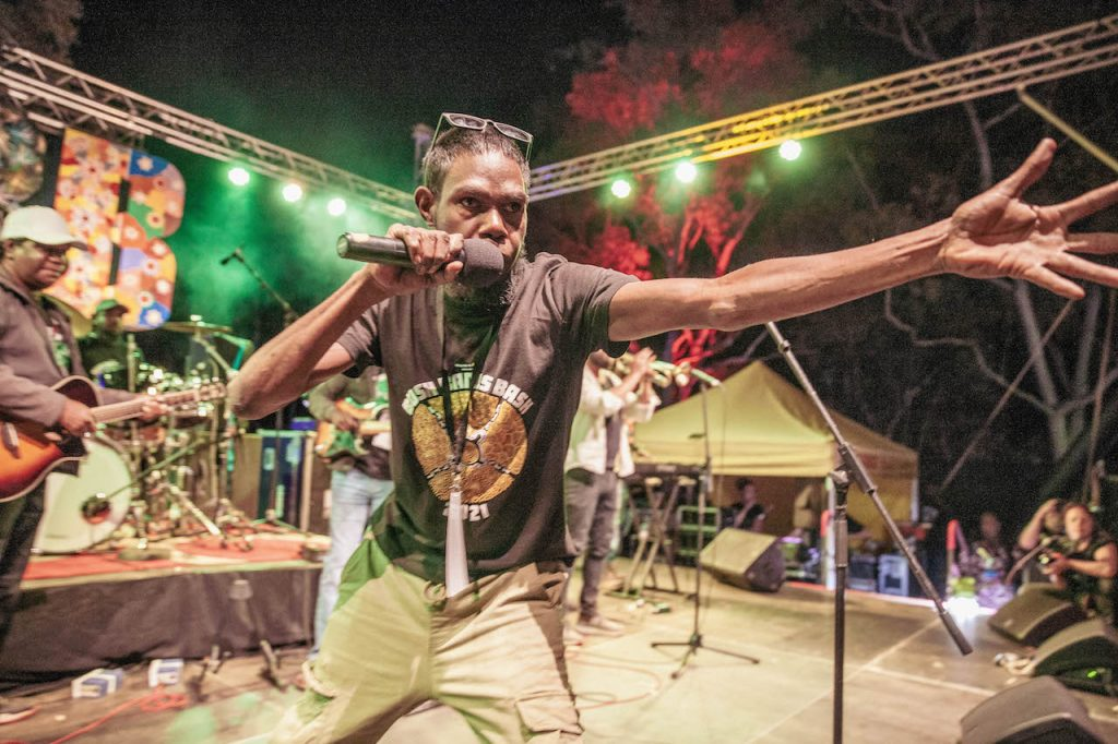 Karrku Reggae Band 📷 Nico Liengme