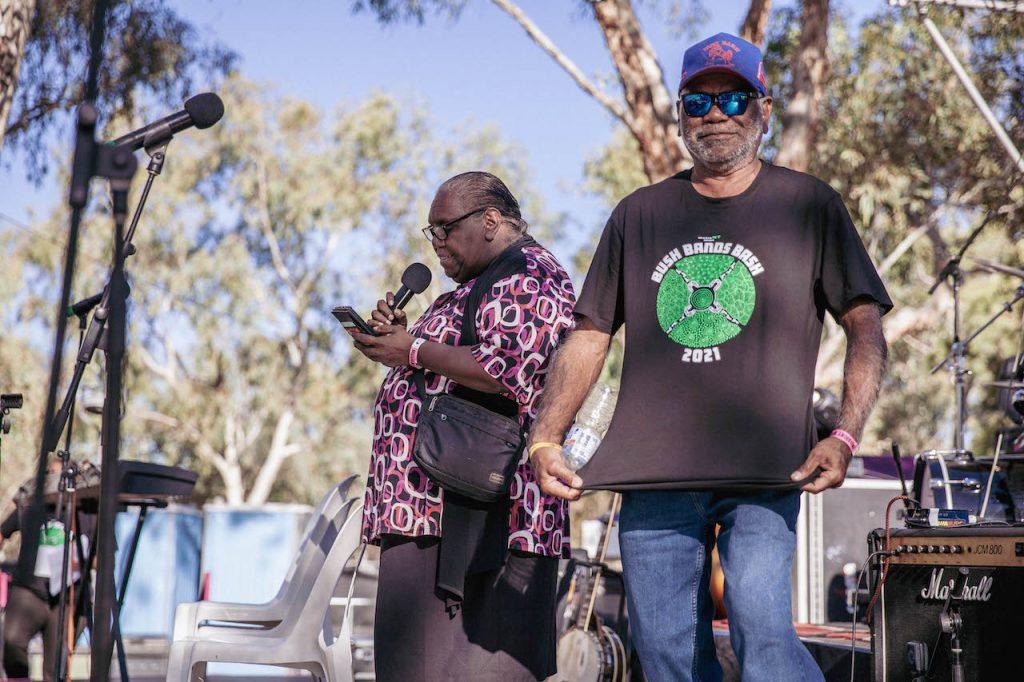 Aunty Marie Ellis & Uncle Warren H Williams 📷 Nico Liengme